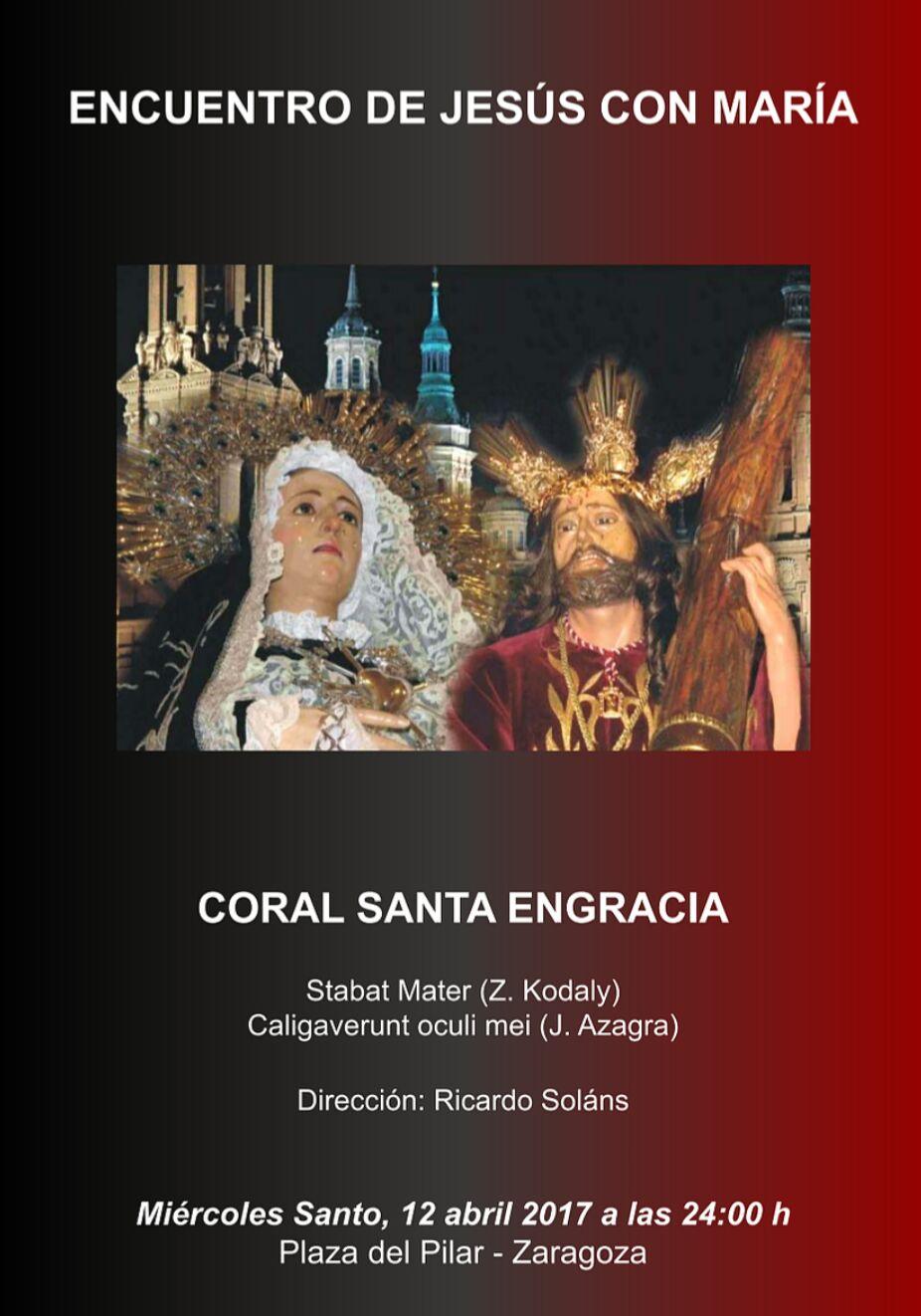 Encuentro de Jesús con María - Coral Santa Engracia