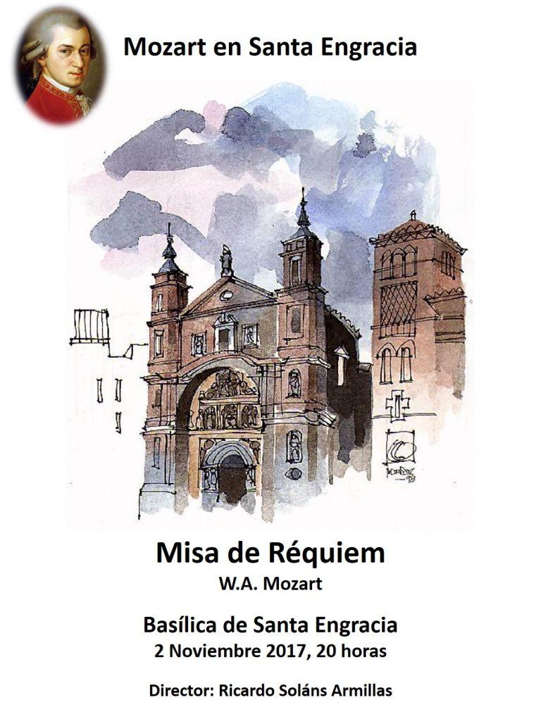 Misa de Réquiem en la Basílica de Santa Engracia